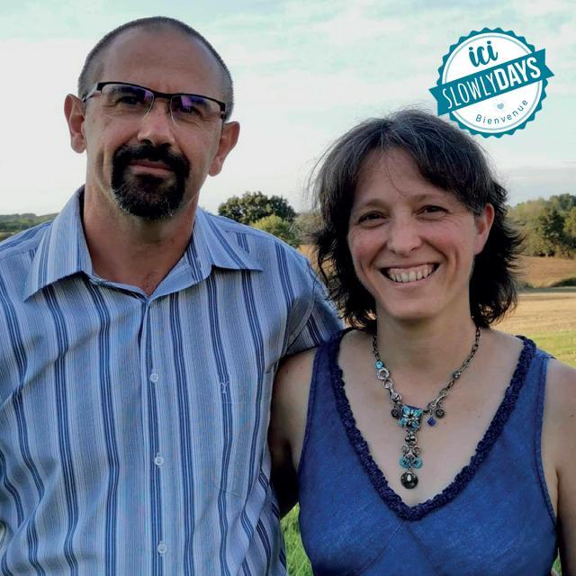Stephanie Et Joël Domaine De Dansé Slowlydays