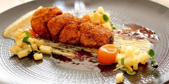 Ris de veau Restaurants Hotel Restaurant Perier Du Bignon Laval