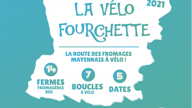 Affiche A3 Vélo Fourchette 2021