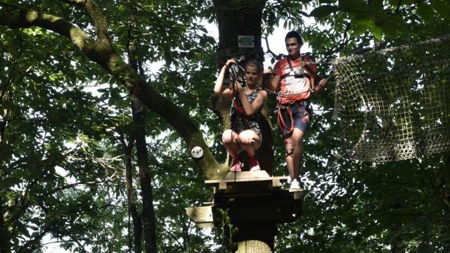 Parcours Accrobranche Au Bois A Force Force Cp Pascal Beltrami Mayenne Tourisme L Orbiere Domaine De Loisirs Hebergements Et Receptions 1920px(10)