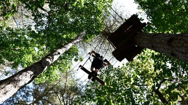 Parcours Accrobranche Au Bois A Force Force Cp Pascal Beltrami Mayenne Tourisme L Orbiere Domaine De Loisirs Hebergements Et Receptions 1920px(11)