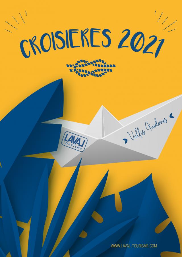 Brochure Croisières Laval Tourisme 2021