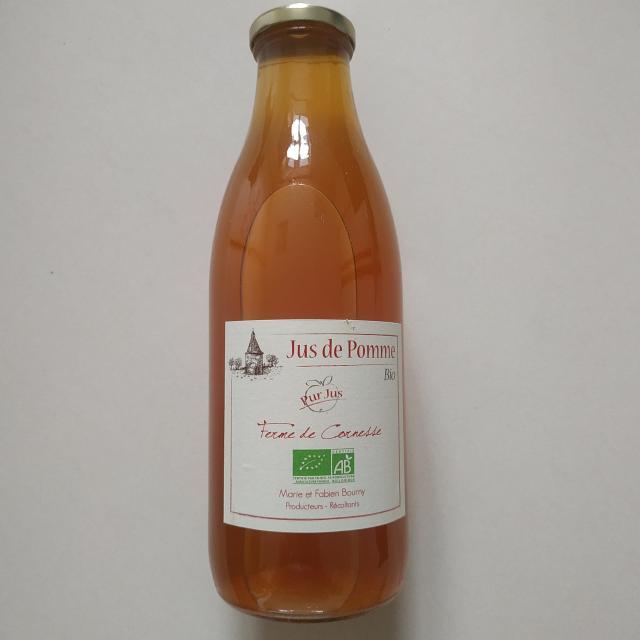 Jus de pommes ferme de cornesse La brulatte Mayenne