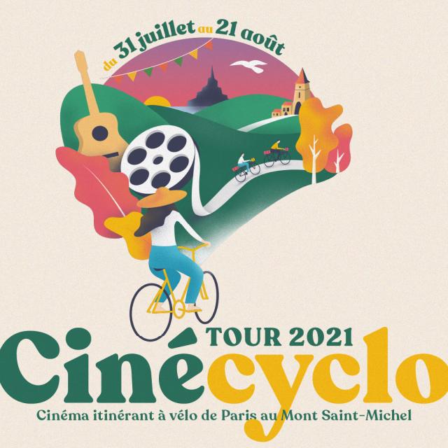 Cinecyclo Tour Paris Mont Saint Michel