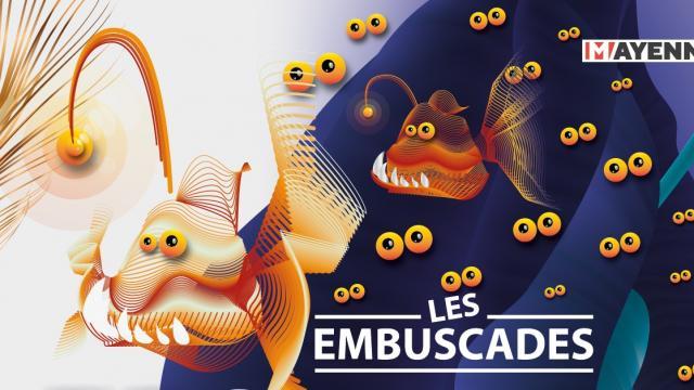 2021 LES EMBUSCADES - affiche - 2