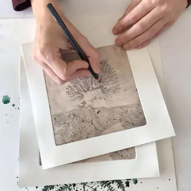 Livre d'artiste Viviane Michel - L'atelier de Viviane et Nicolas - Mayenne - Slowlydays