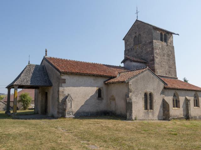 Eglise Saint Jean Baptiste de Laviéville à Dompaire