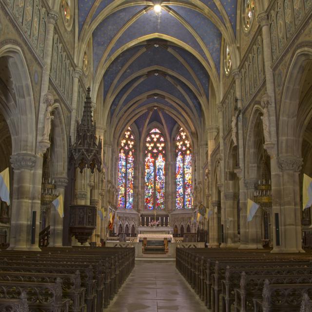 Intérieur de la basilique - Mattaincourt