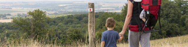 Croix de Virine - Sentier de randonnée