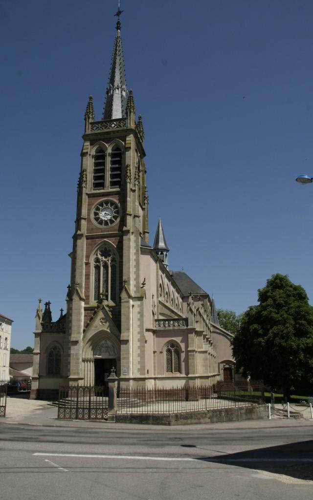 Basilique Mattaincourt