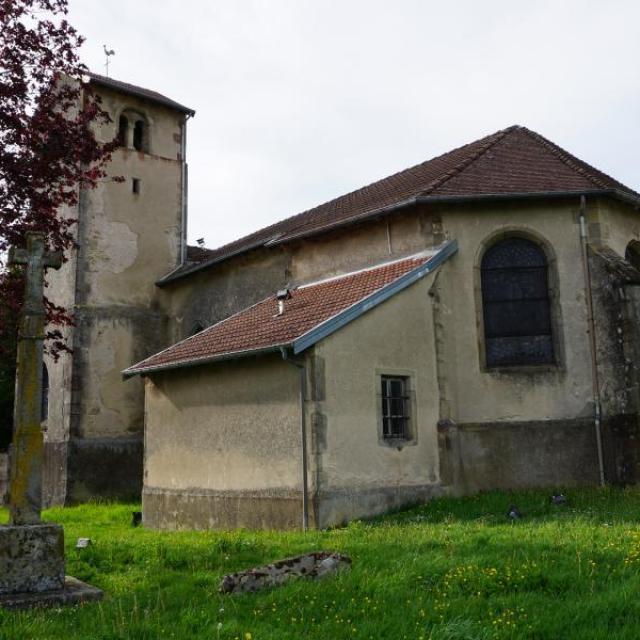 Eglise Saint Martin Ville Sur Illon
