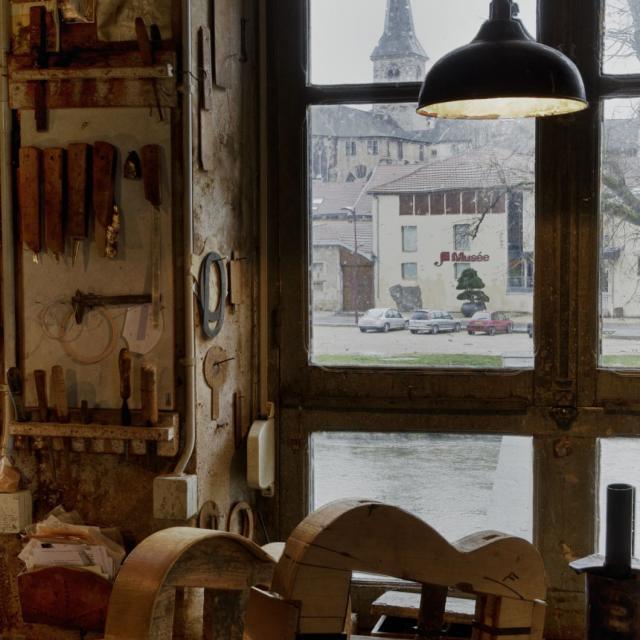 Le Mlaf Vu De Puis L'atelier Du Musée Photo C. Philippot