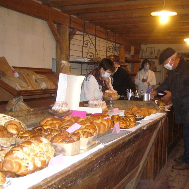 La boulangerie - Village 1900 à Xaronval