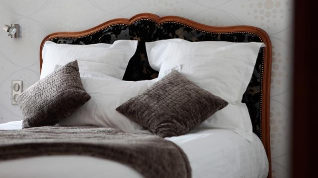 Chambre hôtel Le Burnel