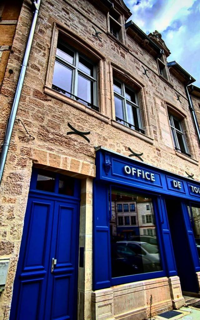 Vue extérieur de l'Office de Tourisme de l'Ouest des Vosges