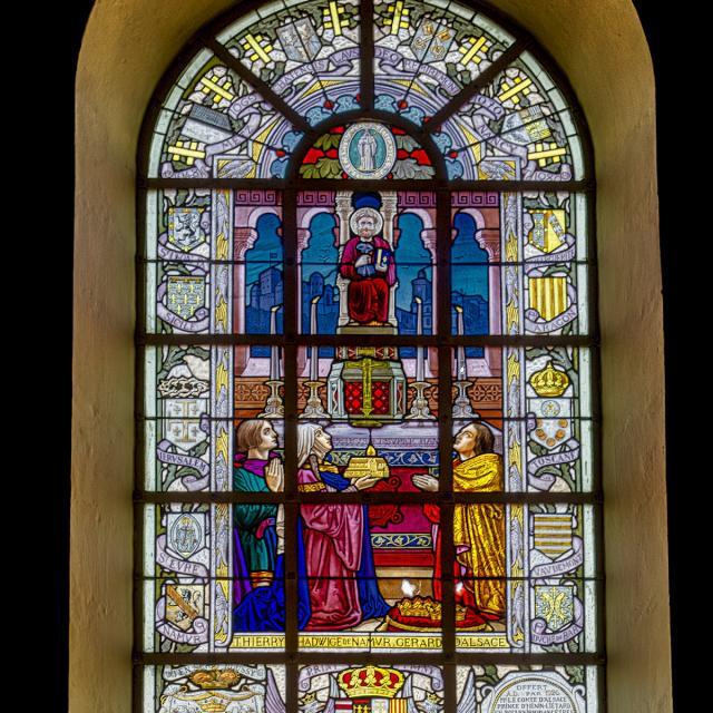 Vitrail Eglise Saint-Pierre, Châtenois