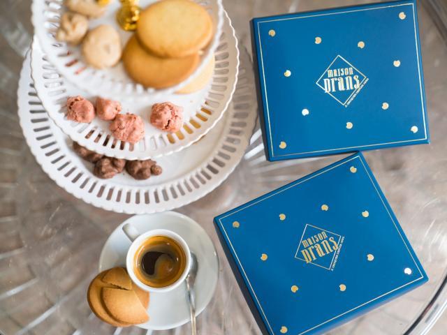 Vallée-de-la-Sarthe- Sablé- Maison- Drans- Biscuits et Boites Café