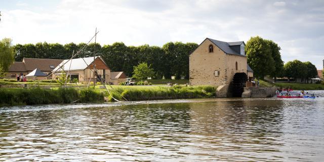 Ile MoulinSart de Fillé sur Sarthe