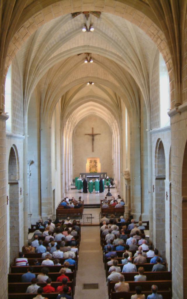 Eglise Abbatiale De Solesmes