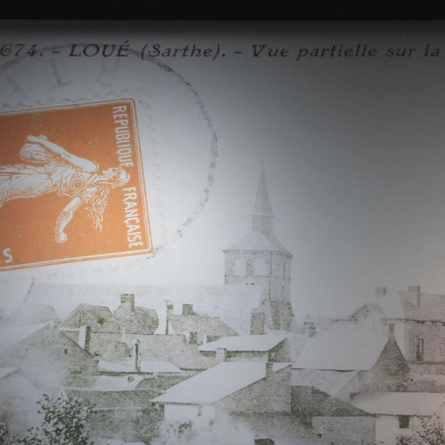 Carte postal de Loué -Office de Tourisme de Sablé-sur-Sarthe