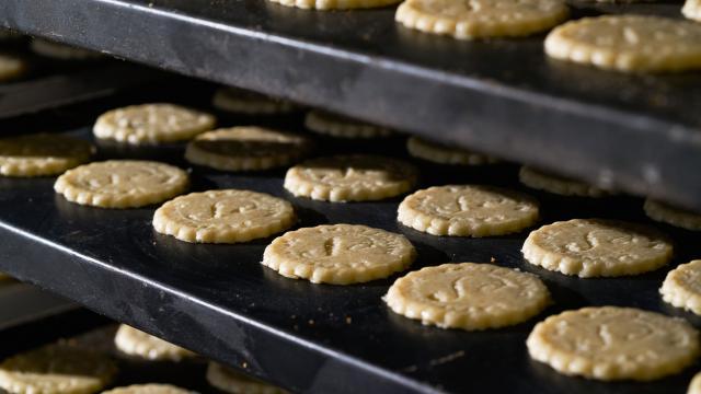 Biscuits Petits Sablés au four La Sablésienne