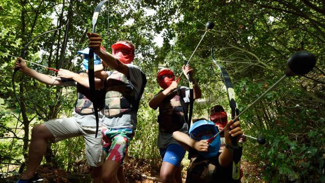 Activité Fun Archery de Terre Activ' à Juigné-sur-Sarthe