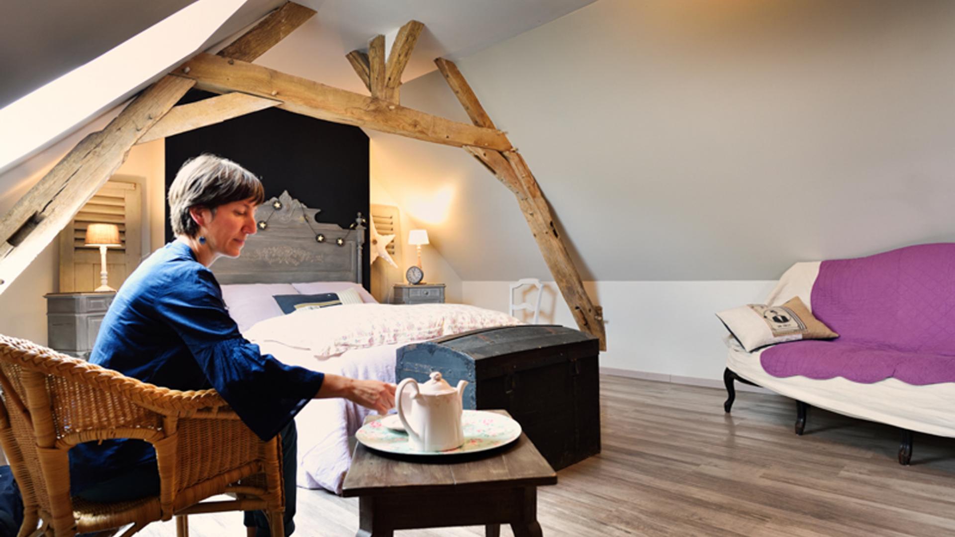 Où dormir en Vallée de la Sarthe- Atelier and Cow à Louplande