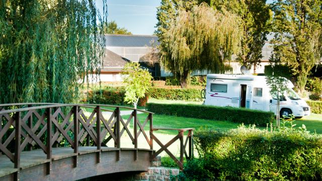 Aire Camping-Car en Vallée de la Sarthe