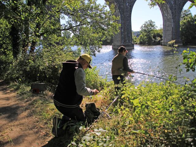 Pêcheurs Bords De Sarthe