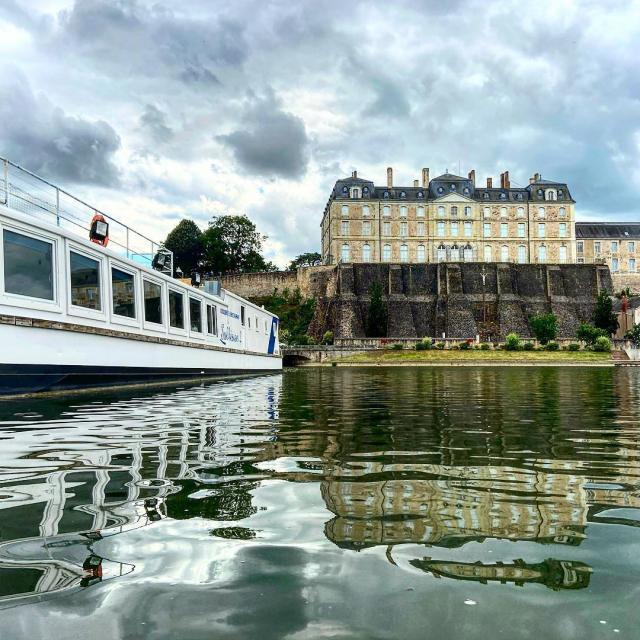 Instagram #valleedelasarthe - Bateau promenade Le Sablésien