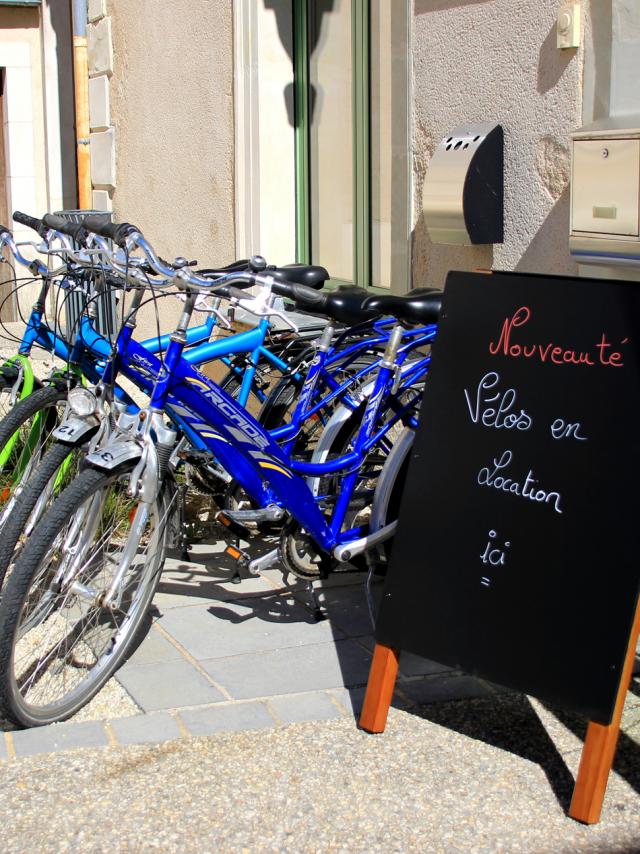 Location de vélo à l'Office de Tourisme de la Vallée de la Sarthe