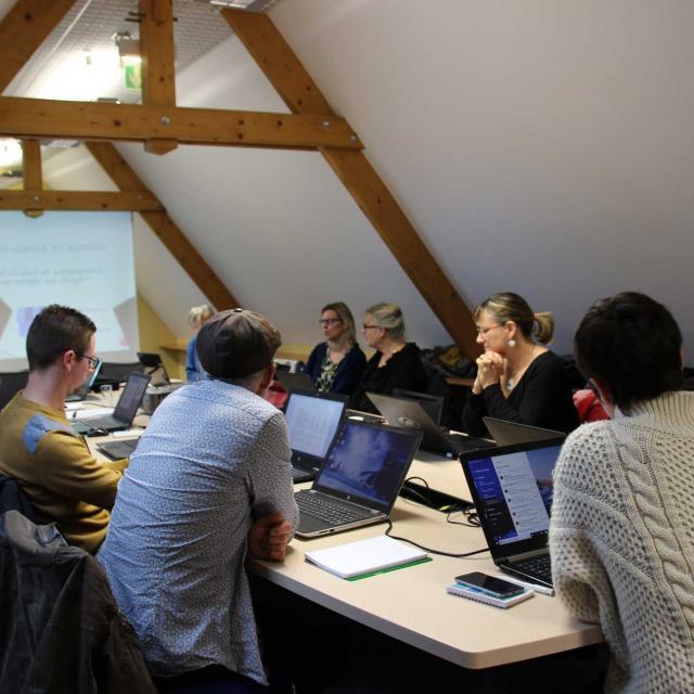 Atelier e-tourisme de l'Office de Tourisme de la Vallée de la Sarthe