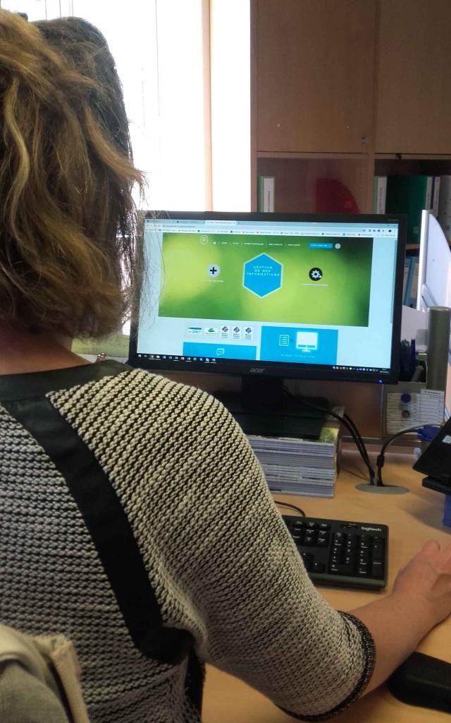 Espace personnalisé du prestataire de la base de données touristique e-sprit