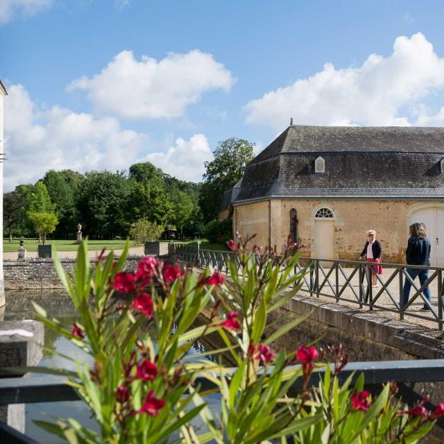 Visite du Château de Dobert à Avoise