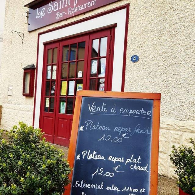Restaurant Le Saint Philibert de Fontenay-sur-Vègre