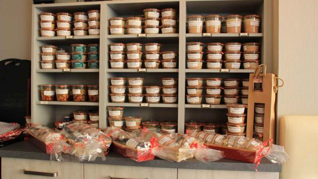 Espace produits du restaurant Le Boeuf Fermier de Solesmes