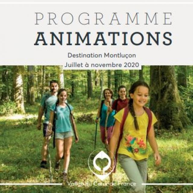 Programme Animations 2020