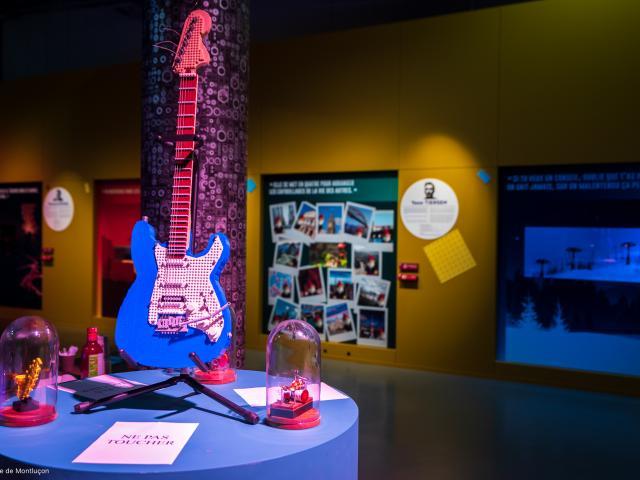 Exposition Les Briques Lego Font Leur Cinema Mupop Montlucon 05