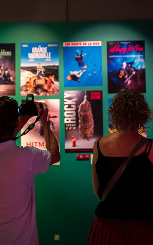 Exposition Les Briques Lego Font Leur Cinema Mupop Montlucon 08