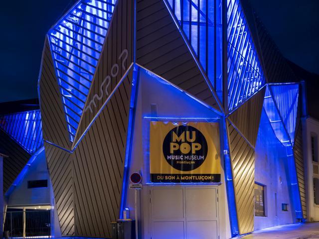 Mupop Montlucon Nocturne Parcours Lumiere 1