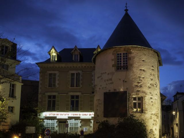 Office De Tourisme Montlucon Nocturne Parcours Lumiere 1