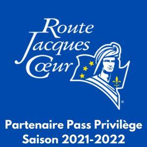 Partenaire Pass Route Jacques Cœur 2022