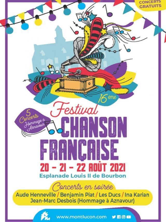 20 21 22 Festival Chanson Francaise Montlucon