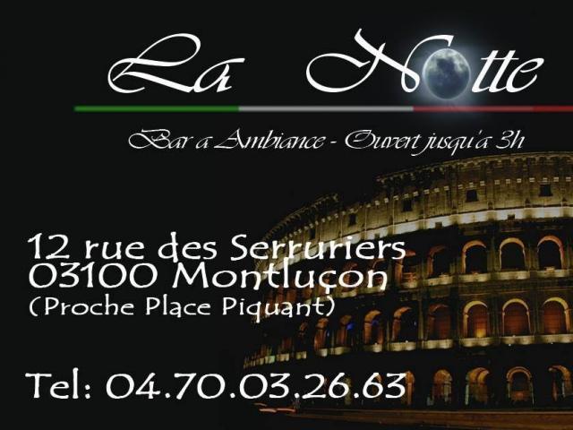 Bar La Notte Montlucon 01