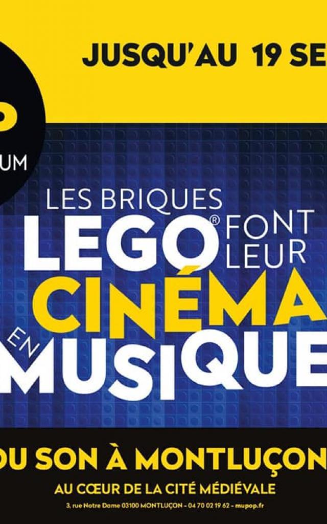 Exposition Mupop Les Briques Lego Font Leur Cinema Annee 2021