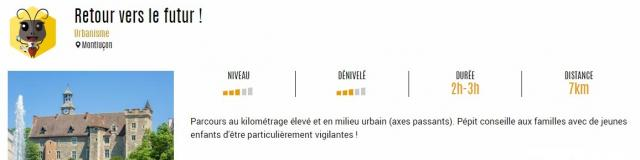 Parcours Pepits Montlucon