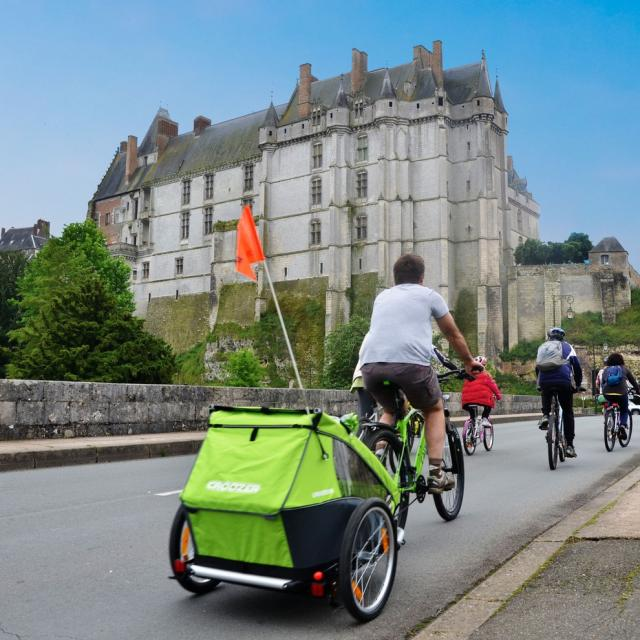 Chateau Chateaudun Vélo © Vallée Du Loir