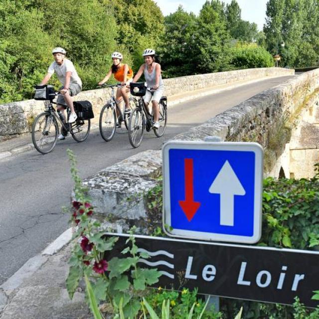 Traversée du Loir à vélo