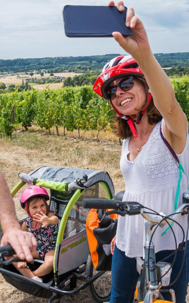 Photo au Panorama Vignoble Jasnieres et Coteaux du Loir