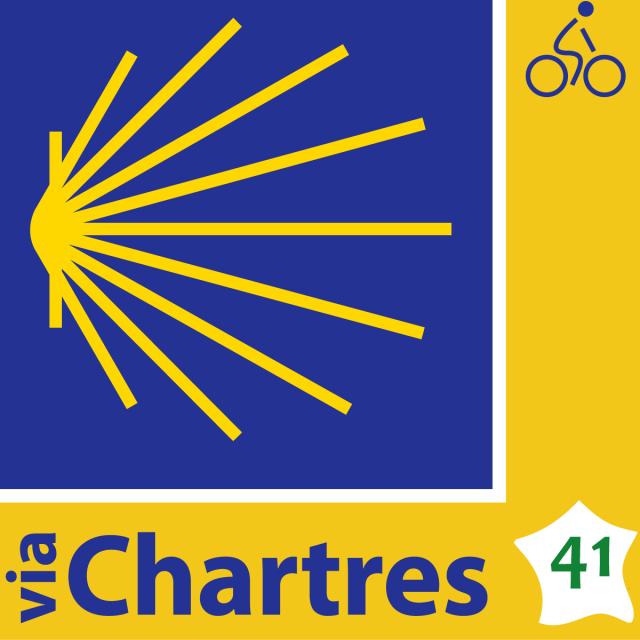 Logo Saint Jacques A Velo Via Chartres